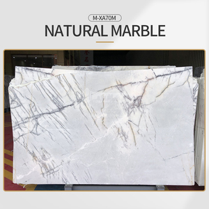 Modern simple white natural marble M-XA70M