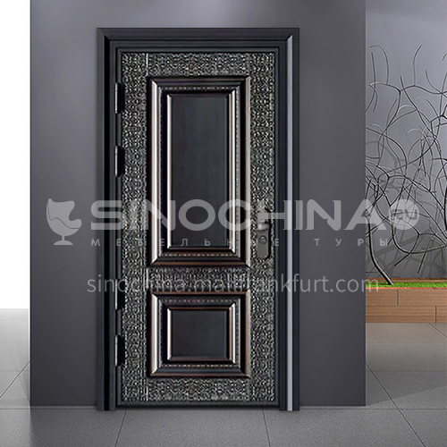 Inventory door new explosion-proof bulletproof door casement door cast aluminum French door FPL-A008
