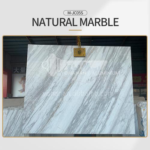 Modern light luxury white natural marble M-JC05S