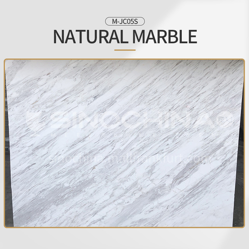 Modern light luxury white natural marble M-JC95S