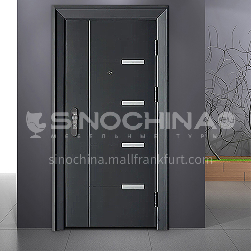 Existing stock door stylish explosion-proof cast aluminum door entry security door
