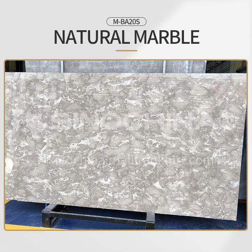 Modern light luxury gray natural marble M-BA20S