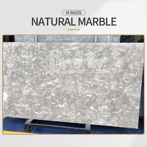 Modern light luxury gray natural marble M-BA20S