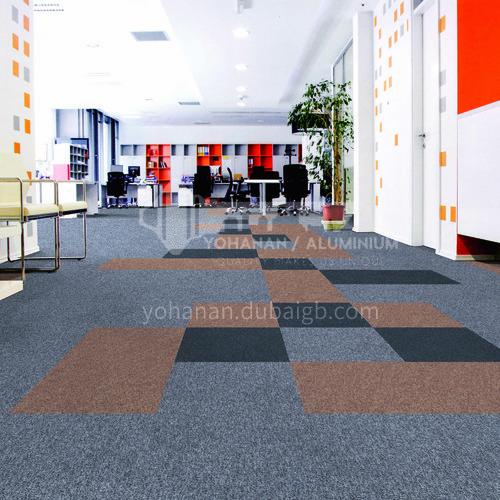 50*50cm polypropylene + asphalt office carpet KLBD10