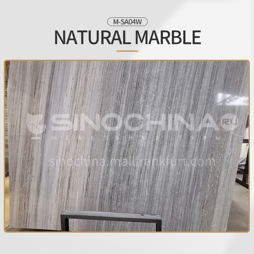 Modern light luxury gray natural marble M-SA04W