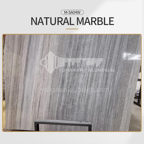 Modern light luxury gray natural marble M-SA04W