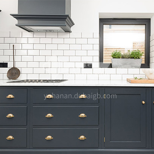 Modern style PVC WITH HDF kitchen simple design cabinet GK-192
