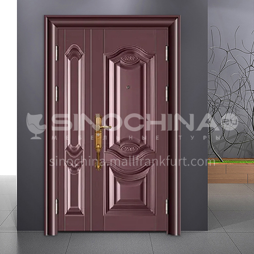 Cast aluminum explosion-proof door explosion-proof door anti-collision door outdoor door