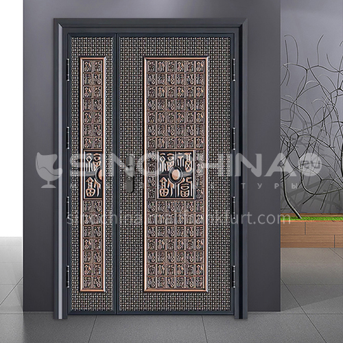 G stock door modern explosion-proof door durable safety inner door outer door safety door 08