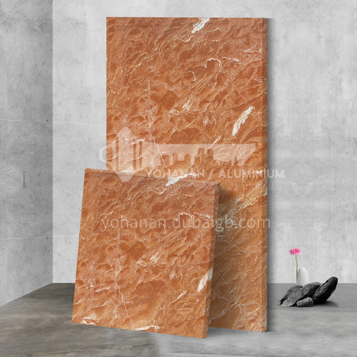 Modern simple red natural marble M-CB90H