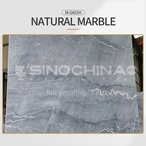 Modern light luxury gray natural marble M-GA01H