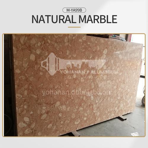 Modern light luxury red natural marble M-YA99B