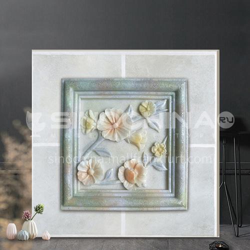 Antique brick living room bathroom tile Mediterranean kitchen floor tile-WLK3D308H 300*300mm