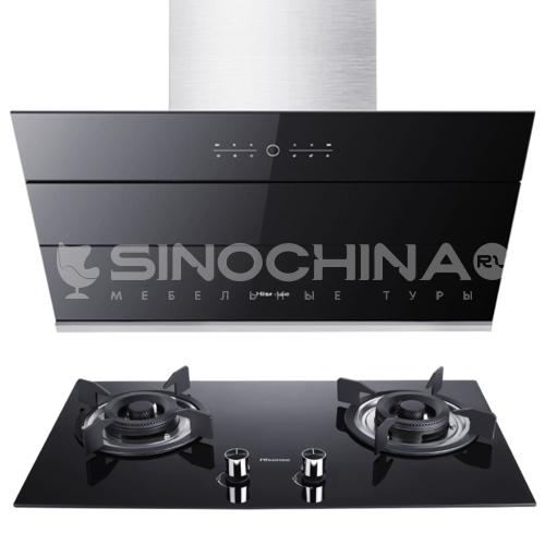 Hisense/海信  Side suction range hood gas stove package DQ000431