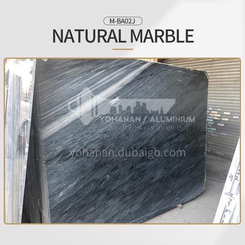 Modern light luxury gray natural marble M-BA02J