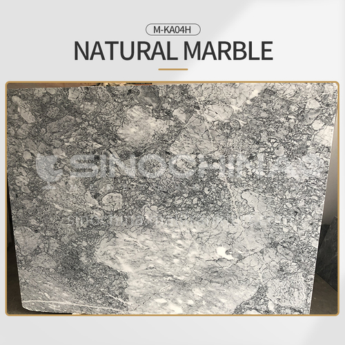Modern light luxury gray natural marble M-KA04H