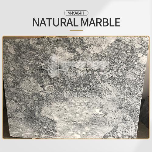 Modern light luxury gray natural marble M-KA04H