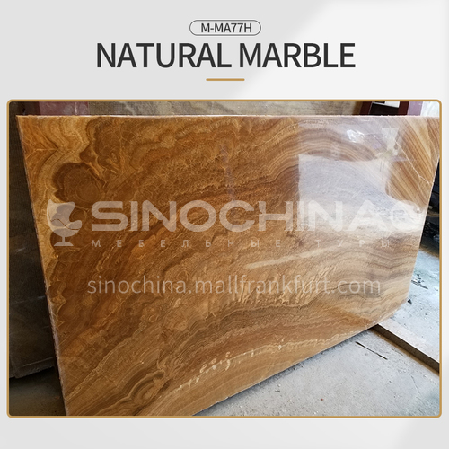 Modern light luxury brown natural marble M-MA77H
