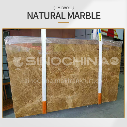 Modern light luxury brown natural marble M-F889L