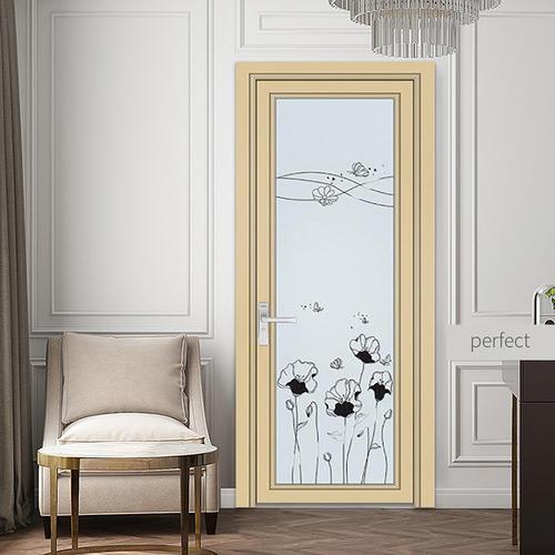 G 1 2mm Classic Style Aluminum Swing Door Toilet Door Kitchen Door Sundries Room Door 11