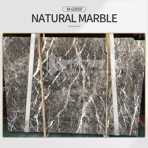 Hot sale stone natural brown marble floor decoration M-G005F