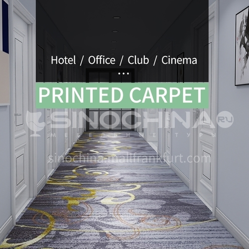 Corridor carpet series 3  for office cinema hotel project