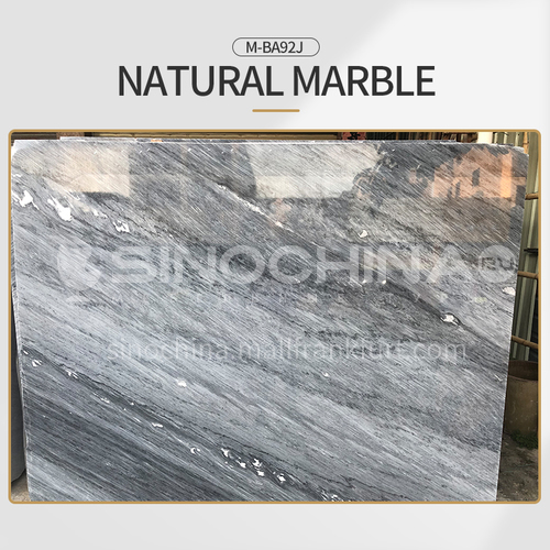 Modern light luxury gray natural marble M-BA92J