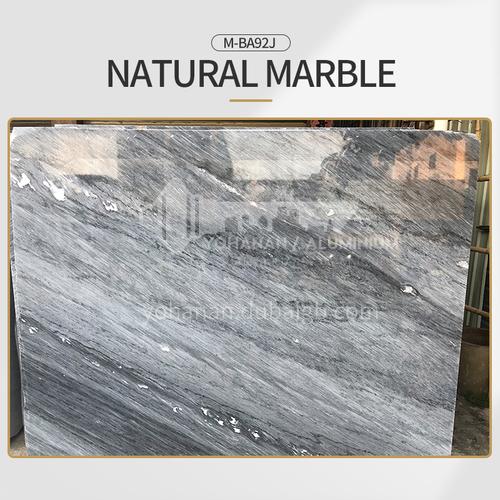 Modern light luxury gray natural marble M-BA92J