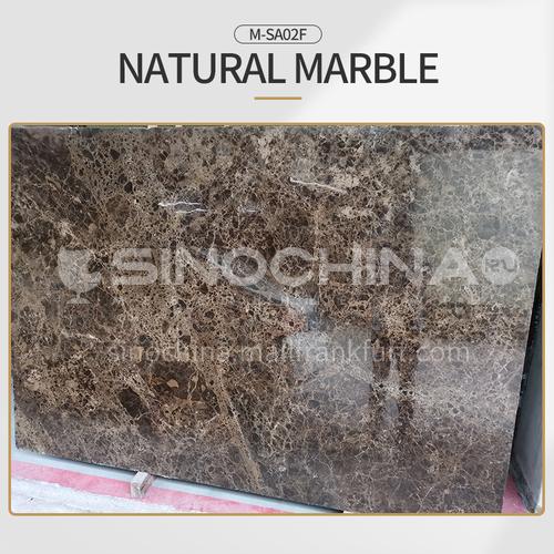Dark Emperador European style hot selling natural brown marble M-SA02F