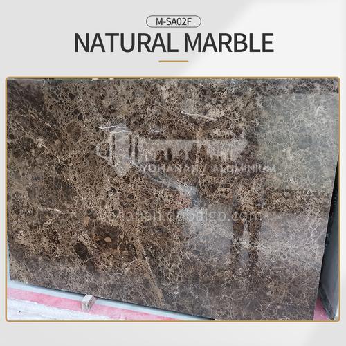 Modern simple brown natural marble M-SA02F