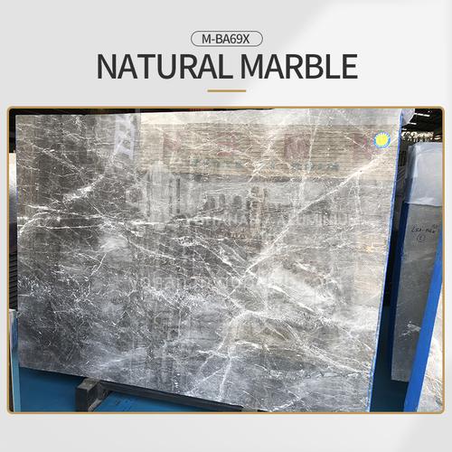 Modern light luxury gray natural marble M-BA69X