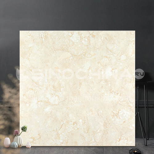 Full body marble tile living room warm color floor tile floor tile background wall tile-SKLTT078 800mm*800mm