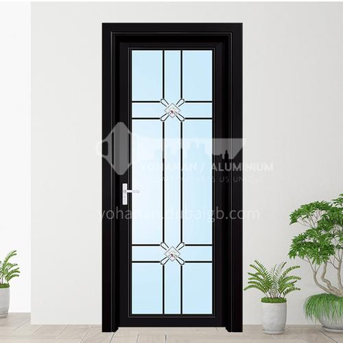 1.2mm aluminum alloy swing door modern style decorative flower swing door 1