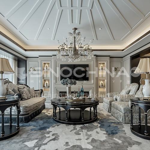 Elegant space villa design   VA1009