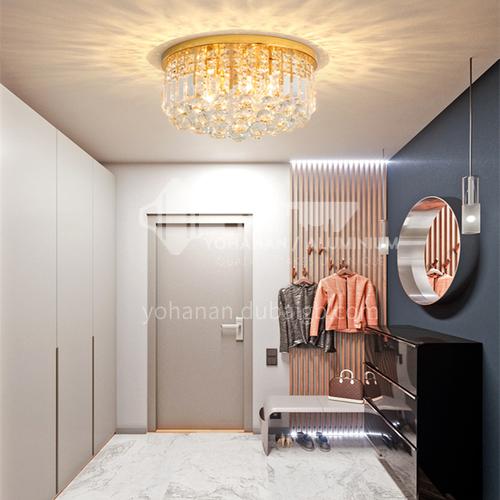 Crystal lamp living room lamp balcony lamp led ceiling lamp corridor lamp GD-1282