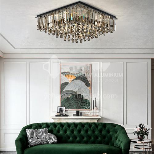 Crystal lamp living room modern LED ceiling lamp bedroom lamp GD1292