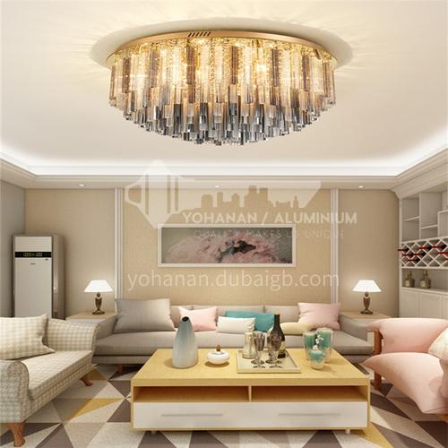 Light luxury crystal lamp living room lamp led ceiling lamp modern living room dining room lamp bedroom lamp GD-1252