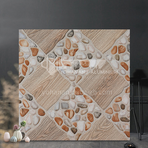 American country antique brick balcony tile cobblestone floor tile courtyard garden floor tile-SKL43017 400mm*400mm