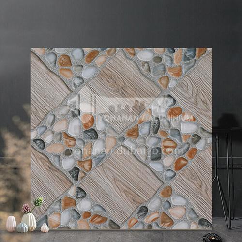American country antique tile balcony tile cobblestone floor tile courtyard garden floor tile-SKL43018 400mm*400mm