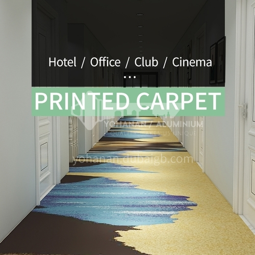 Corridor carpet series 12  for office cinema hotel project