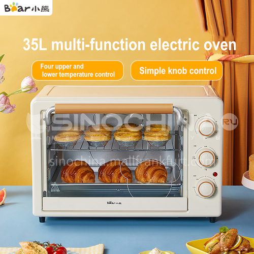 Bear Oven Household Small Multifunctional Household Baking Desktop Large Capacity Automatic Small Electric Oven 35 Liters DQ000530