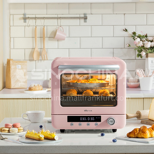 Bear electric oven household baking mini small cake bread double intelligent water bath steaming and baking machine 20 liters DQ000531
