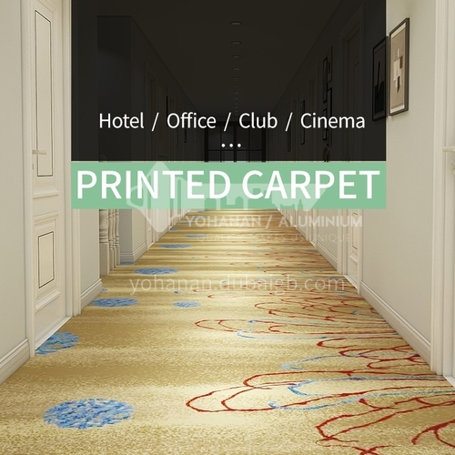 Corridor carpet series 13  for office cinema hotel project