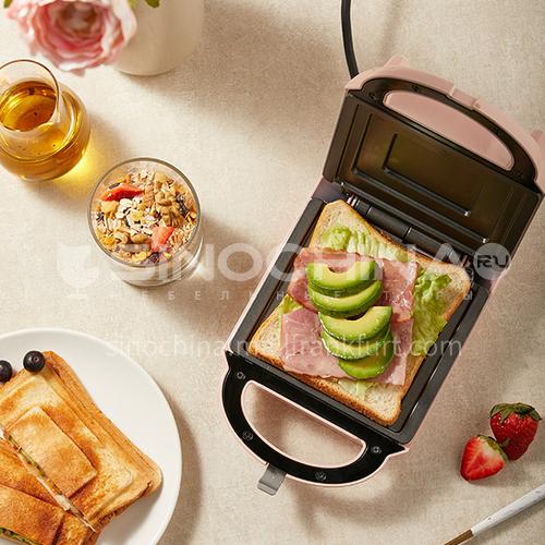 Bear sandwich maker, breakfast maker, household light food maker, waffle maker, multi-function heating toast press toaster DQ000533