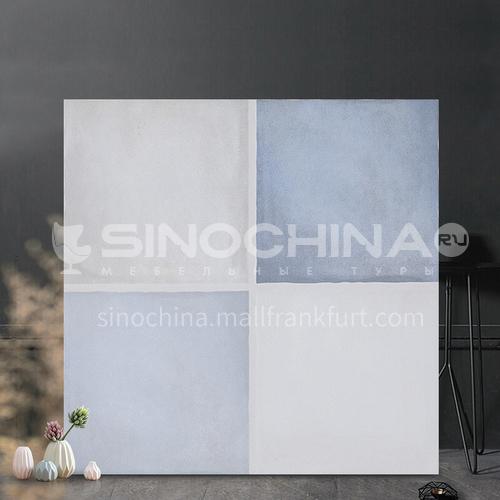 Blue Mediterranean bathroom tiles balcony kitchen tiles-DLB318A 300*300mm
