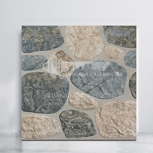 Balcony courtyard floor tiles imitation cobblestone tiles-WLK4001 400*400mm