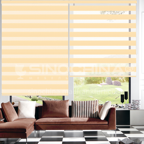 Modern minimalist style waterproof shade durable soft gauze curtain for home office SF-RS28-HD
