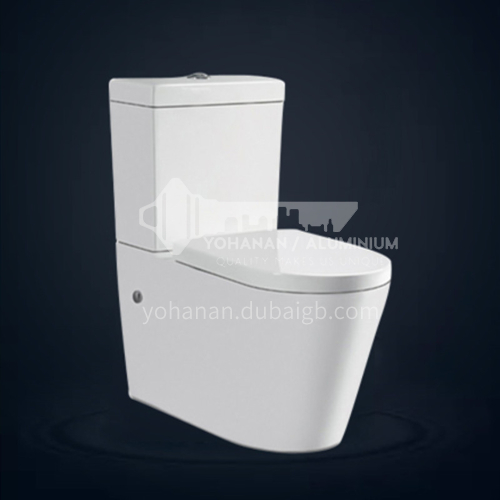 ceramic   two piece toilet p-trap 180mm