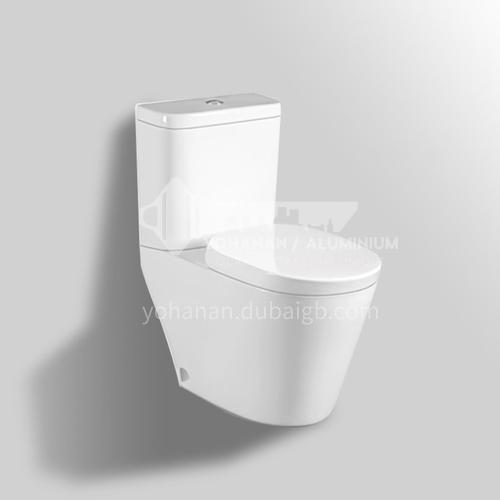 ceramic washdown flush toilet   two-piece  water closet