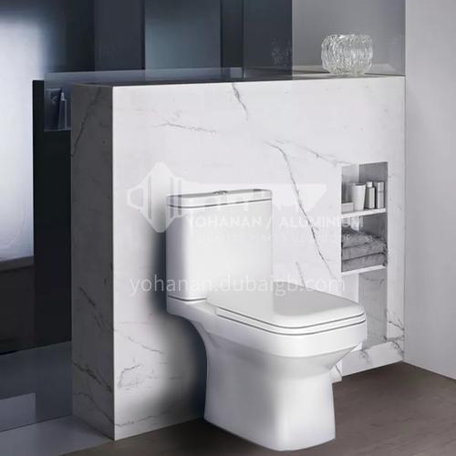 Ceramic     washdown flush    two-piece toilet